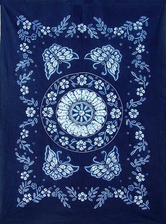 蓝印花布的另一个产地:桐乡乌镇